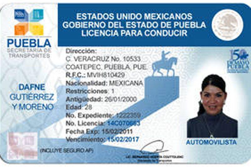 Licencias De Conducir Gobierno De Coahuila
