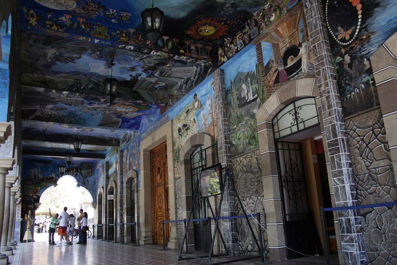 Murales del palacio de Tehuacán